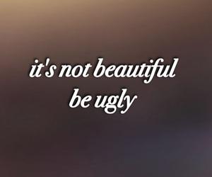 depressing, sad, and i'm ugly image
