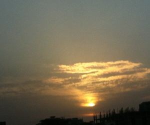 clouds, islamabad, and sunset image