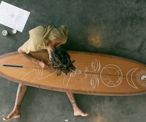 art, surfingboard, and artistic image