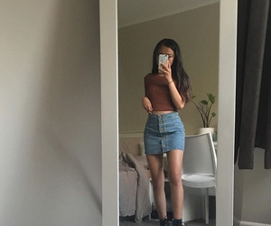 girl, hipster, and mode image