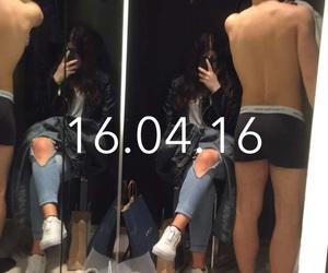 boy, dressingroom, and girl image