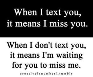 text, quotes, and miss image