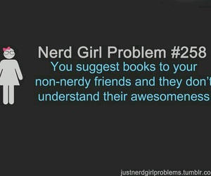 books, nerd, and fangirl image