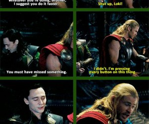 funny, Marvel, and thor image