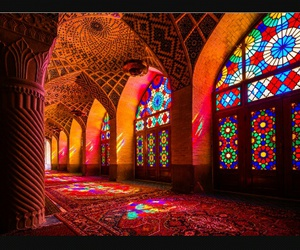 iran, architecture, and mosque image
