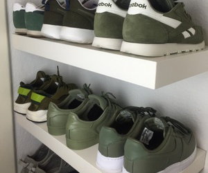 green, shoes, and adidas image