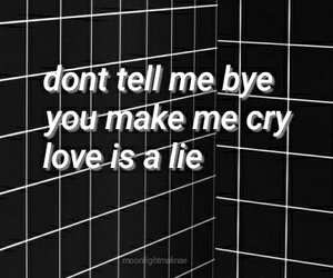 cry, run, and love image