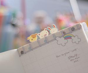 cute, kawaii, and notebook image