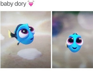 dory, baby, and finding dory image