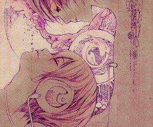 music, drawing, and manga image