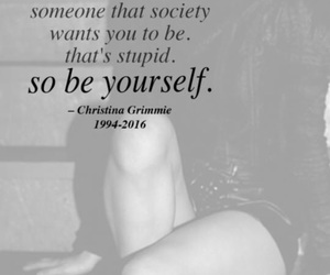 be yourself, quotes, and frasi image