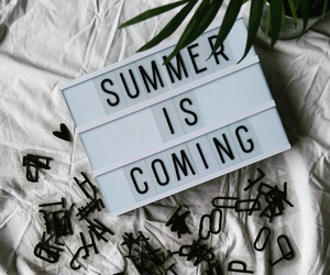 got, lightbox, and summer is coming image