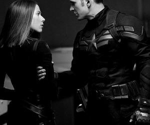 Marvel, captain america, and black widow image