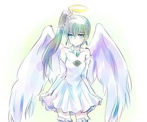anime, angel, and sweet image