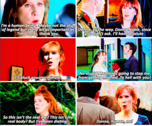 doctor who, donna noble, and donna image