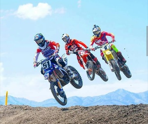 motocross, friends, and mx image