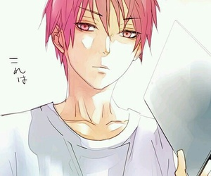 kuroko no basket, anime, and Akashi image