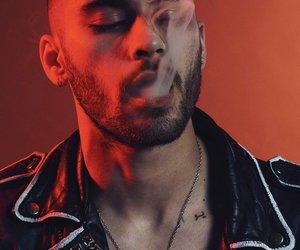 zayn, zayn malik, and smoke image