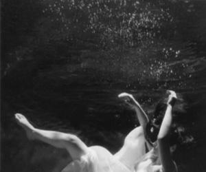 dark, water, and deep image