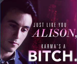 elliot, pll, and tick-tock bitches image