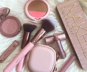 chic, girly, and makeup image