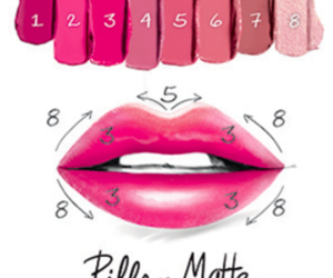 beauty, how to, and lipgloss image