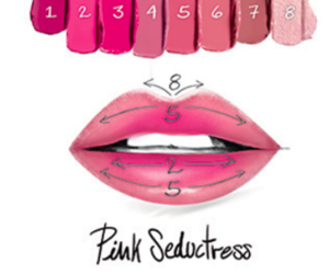 beauty, how to, and lips image