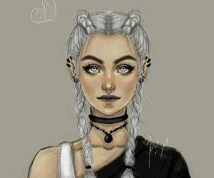 girly_m, art, and draw image