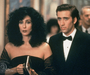 nicolas cage and cher image