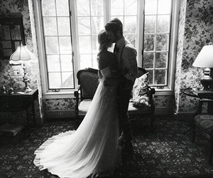 couple, love, and wedding image
