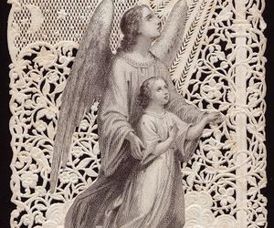 angel, beauty, and divine image