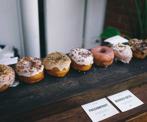 donuts, food, and photography image