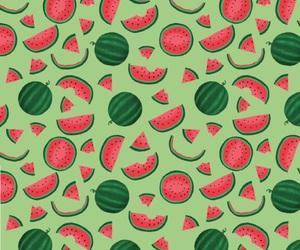 pattern and watermelon pattern image