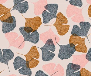 leaves, wallpaper, and drawing image