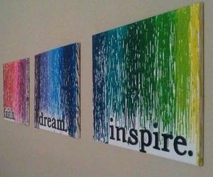 Dream, inspire, and art image