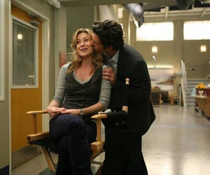 ellen pompeo, patrick dempsey, and grey's anatomy image