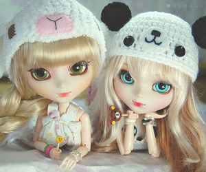 doll, girl, and cute image