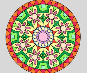 beauty, mandala, and nice image