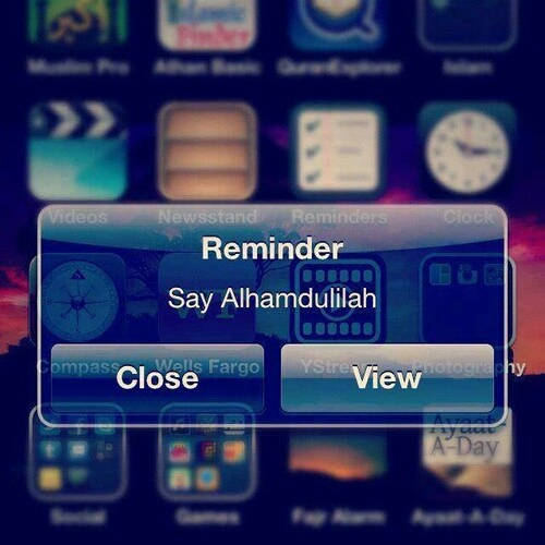 islam, allah, and reminder image