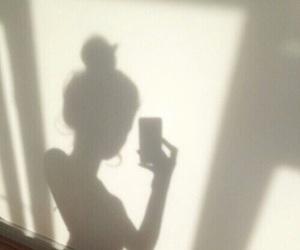 girl and shadow image