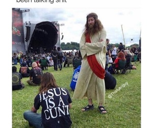 funny, hater, and jesus image