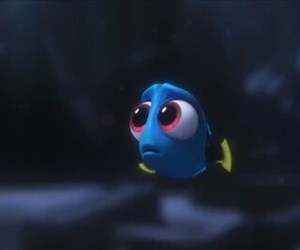 baby, blue, and dory image