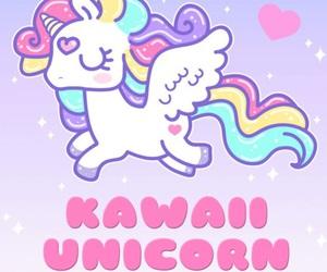 kawaii and unicorn image