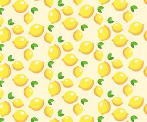 lemon, pattern, and wallpaper image
