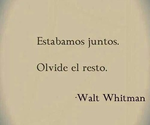 love, walt whitman, and juntos image
