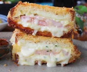 cheese and ham image