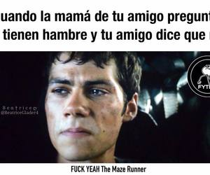 memes, tw, and maze runner image