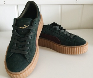creepers, fashion, and gold image