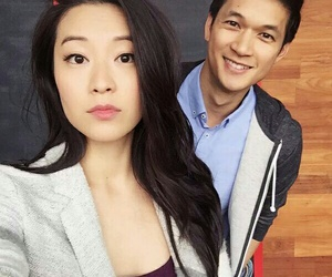 arden cho, harry shum jr, and teen wolf image