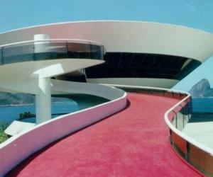 architecture, oscar niemeyer, and brazil image